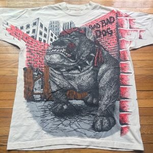 Other - Vintage 90s All Over Print Tee XL